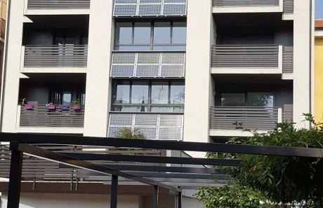 Pannelli solari su abitazione